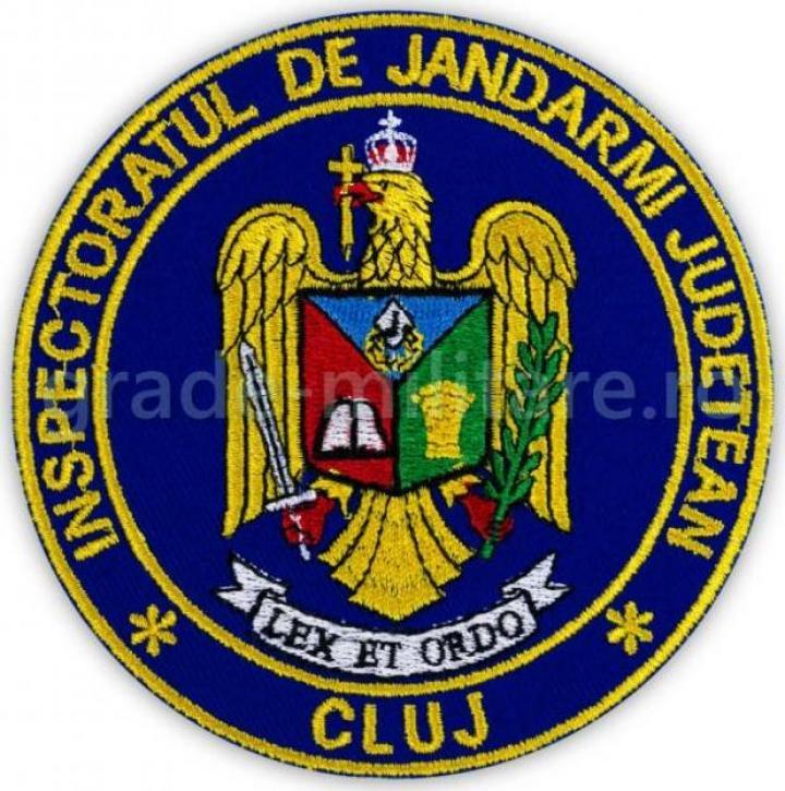 Emblema maneca inspectoratul judetean de jandarmi Timis