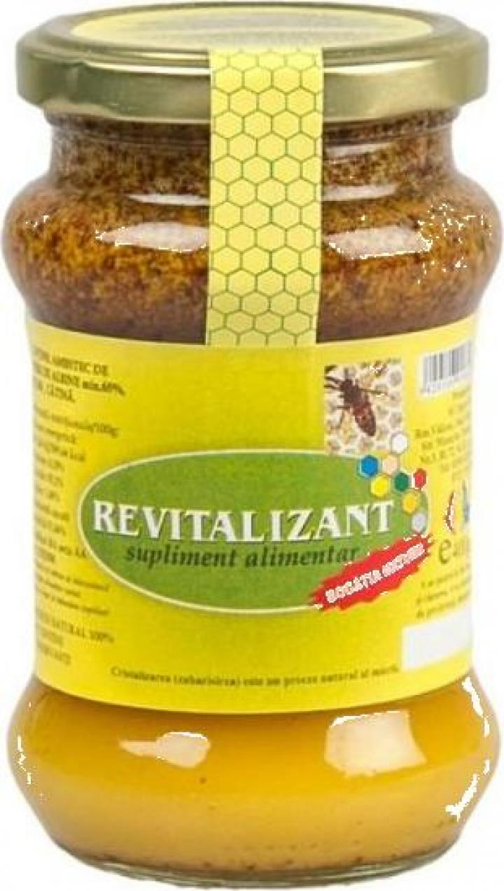 Supliment miere + catina Revitalizant 400g