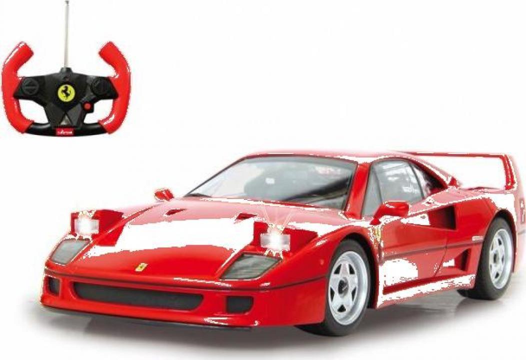 Jucarie masina cu radiocomanda Jamara Ferrari F40 1:14