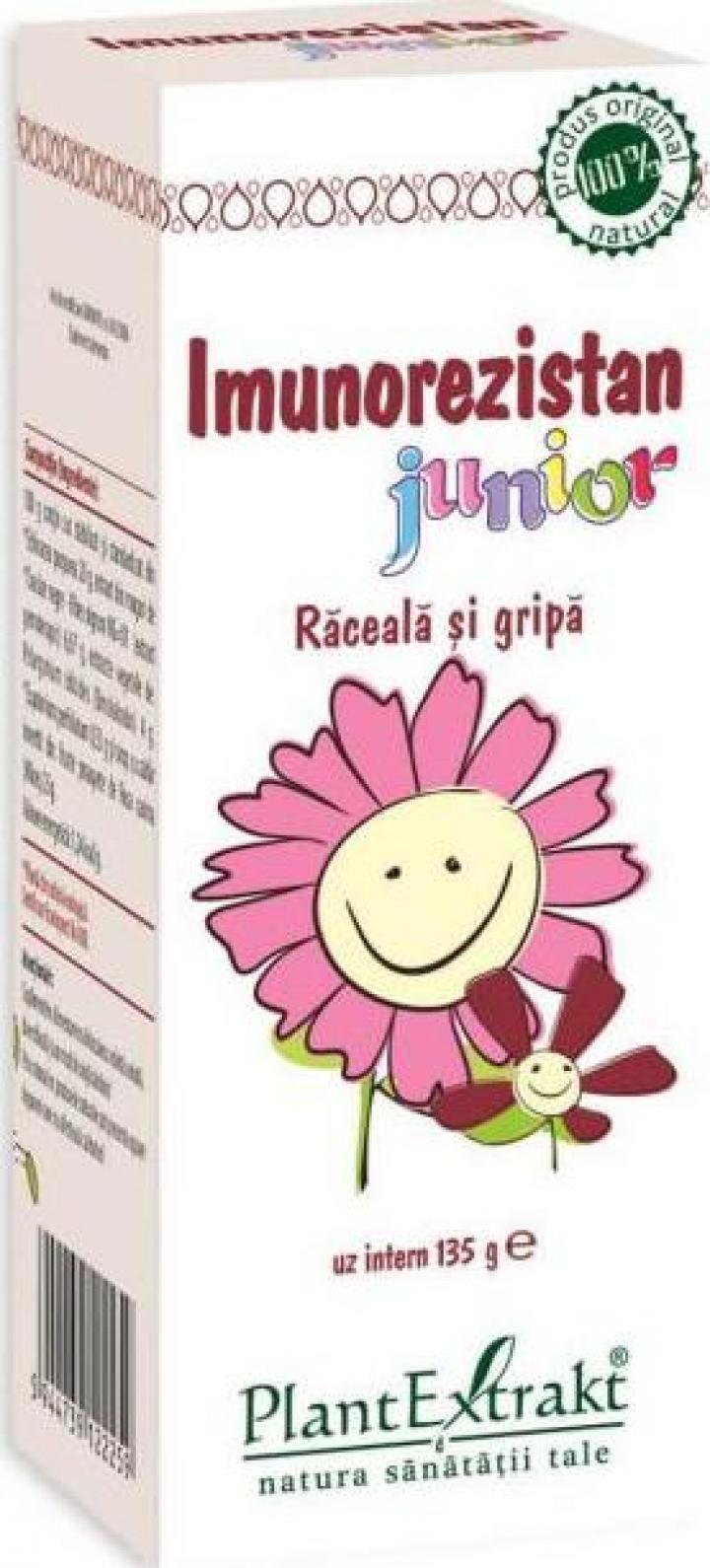 Supliment alimentar Imunorezistan junior 100 ml
