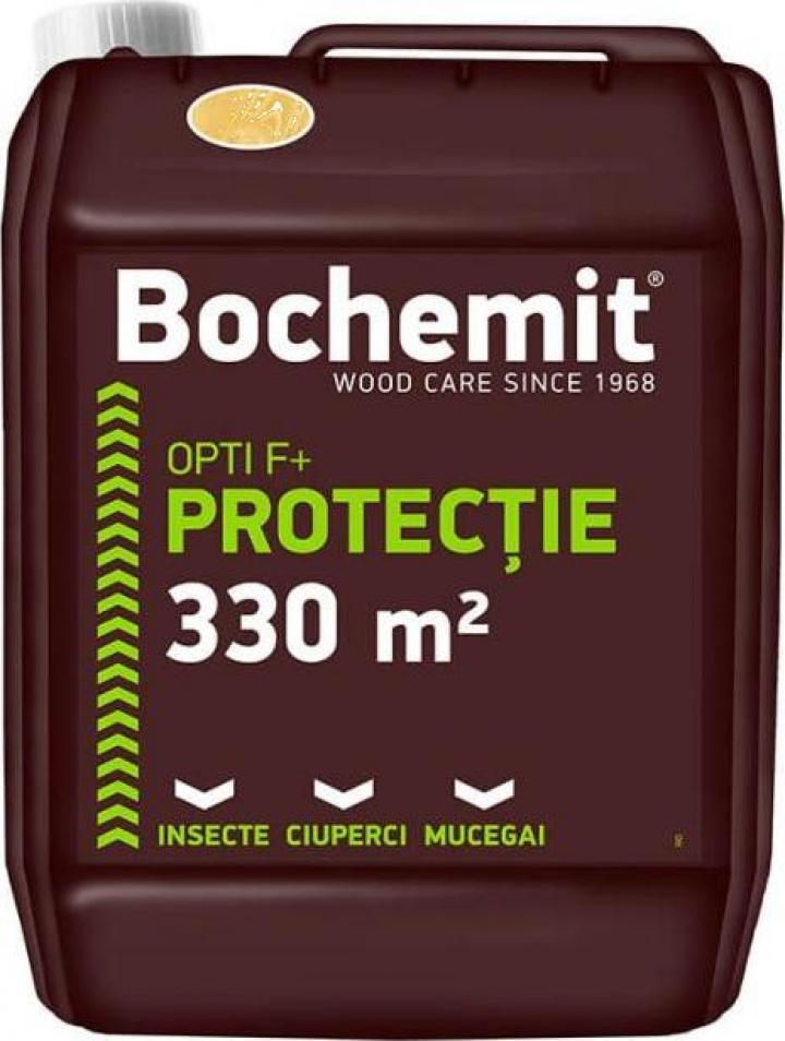 Tratament preventiv lemn Bochemit Opti F transparent 5kg