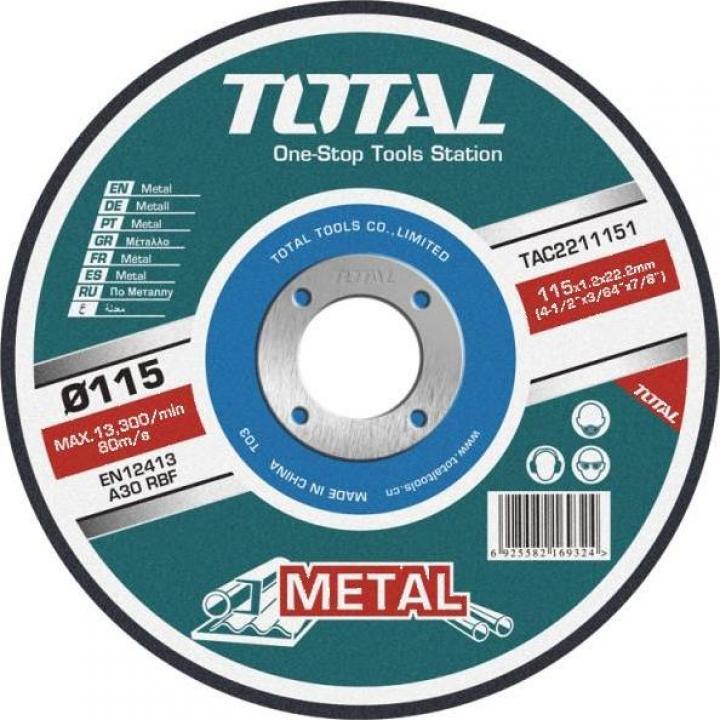 Disc debitare metal 180mm