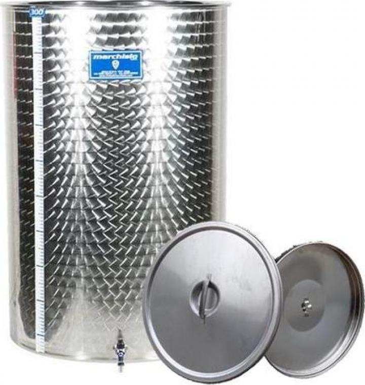 Cisterna inox Marchisio SPO1000, 1000 litri