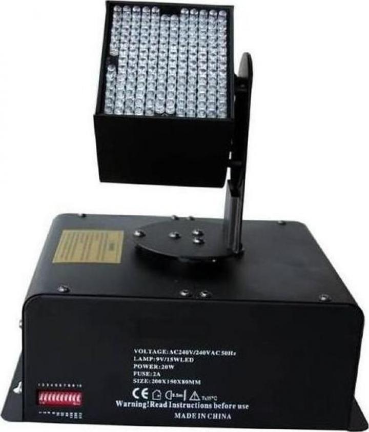 Proiector Moving Head DJ Stage Disco Strobe Light RGB 162