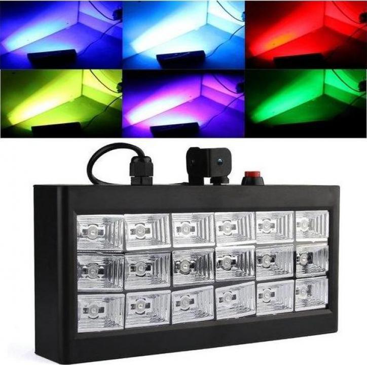 Stroboscop Led Room Strobe 18 cu jocuri de lumini