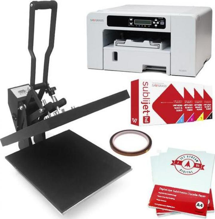 Set presa termica 38x38cm + imprimanta Virtuoso SG 400 DIN