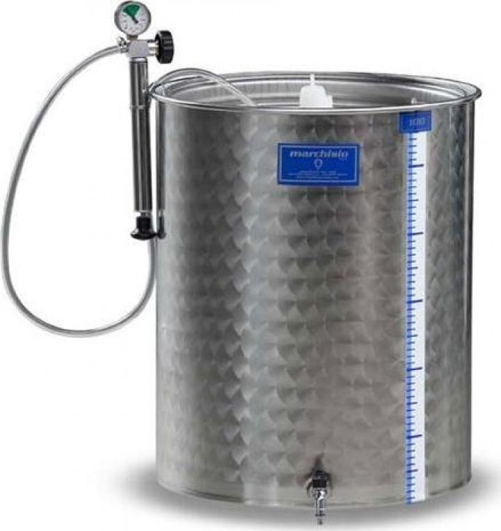Cisterna inox Marchisio SPA700, 700 litri