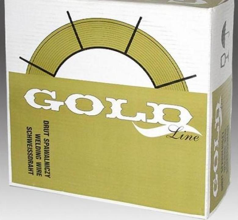 Sarma sudura Gold SG2 d=1.0 rola 5kg