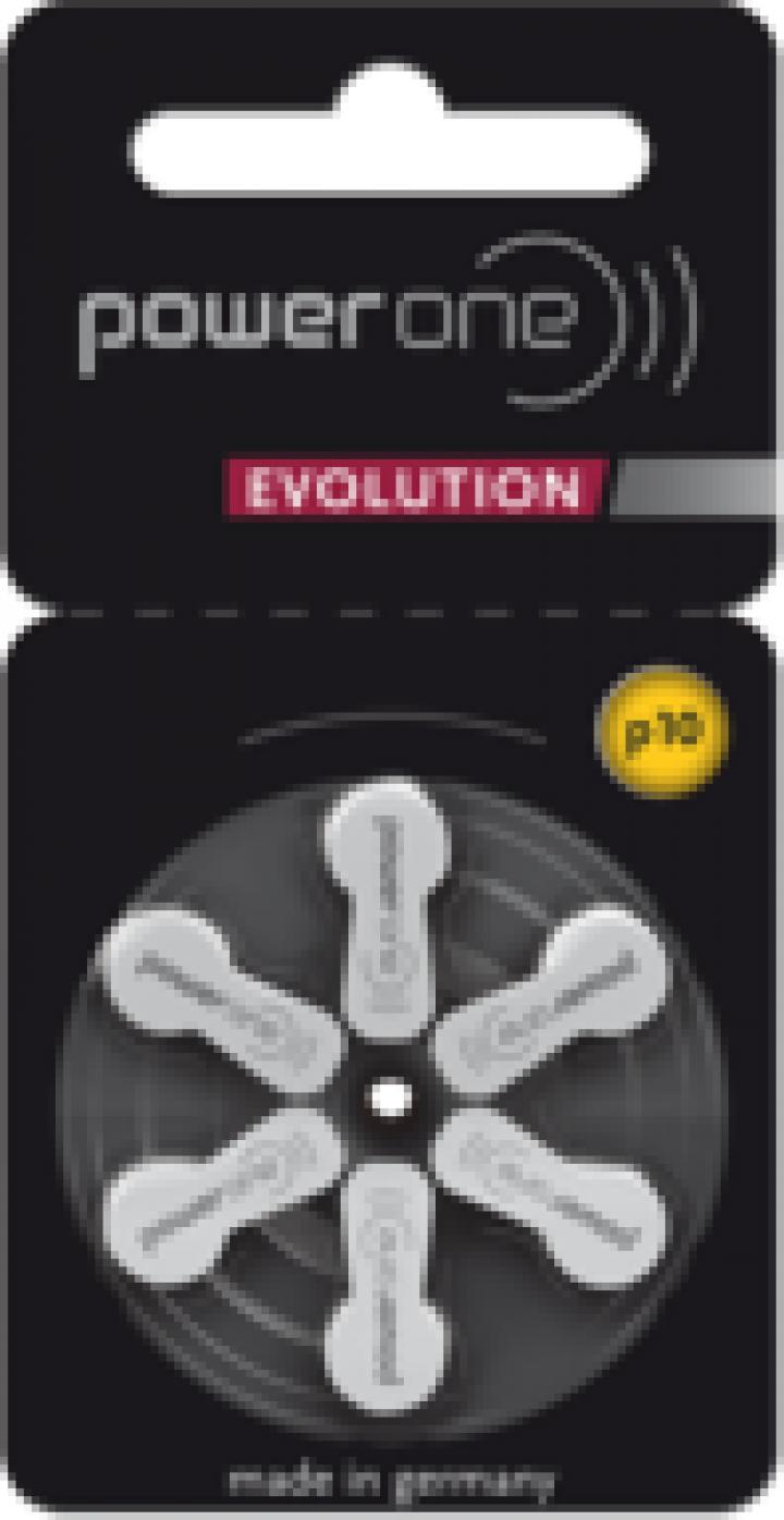 Baterii pentru aparate auditive Power One P10 Evolution PR70