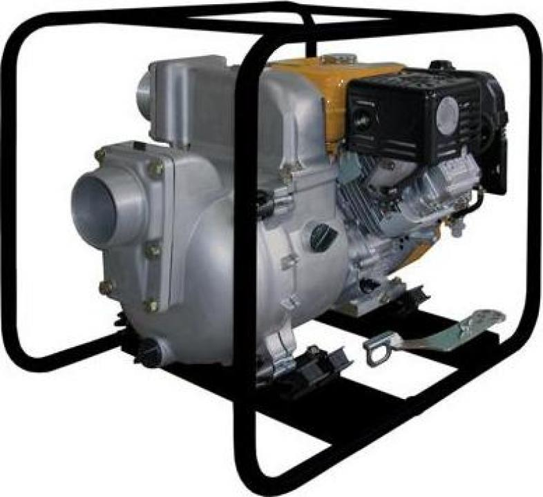 Motopompa apa murdara Koshin KTR-100X, motor Subaru EH41, 9.
